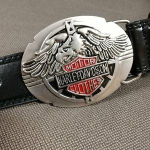 Harley Davidson black belt